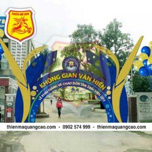 cổng chào hội nghị