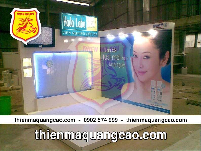 Sản xuất booth quảng cáo