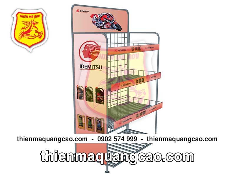 Sản xuất và cung cấp quầy kệ trưng bày giá rẻ mẫu mã đẹp