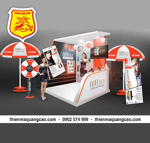 Sản xuất booth activation