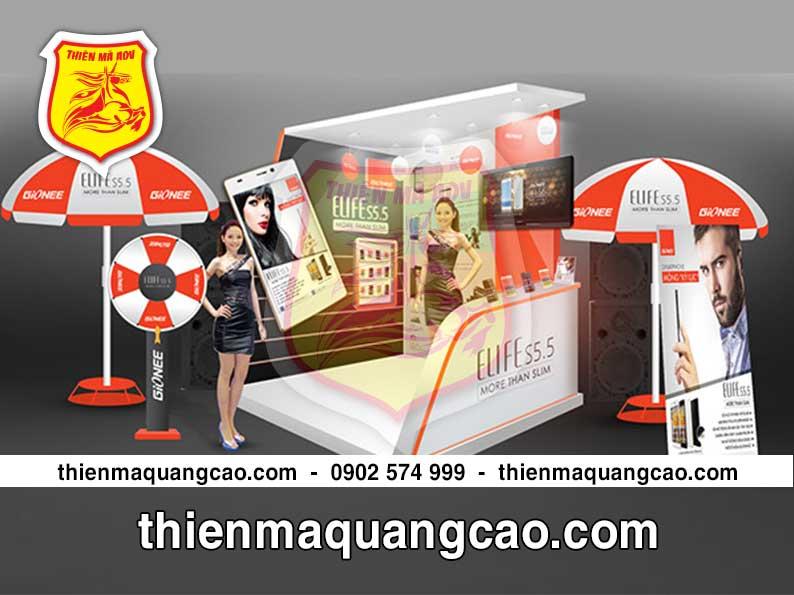 Booth quảng cáo chương trình