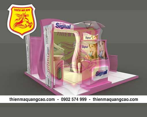 Sản xuất booth quảng cáo giá rẻ và uy tín nhất tại TPHCM.