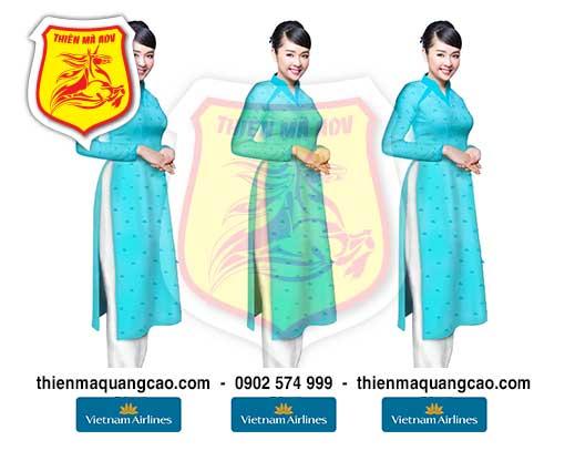 Manocanh Vietnam Airlines mới màu Xanh