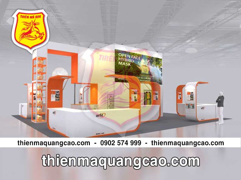 Thiết kế thi công booth activation
