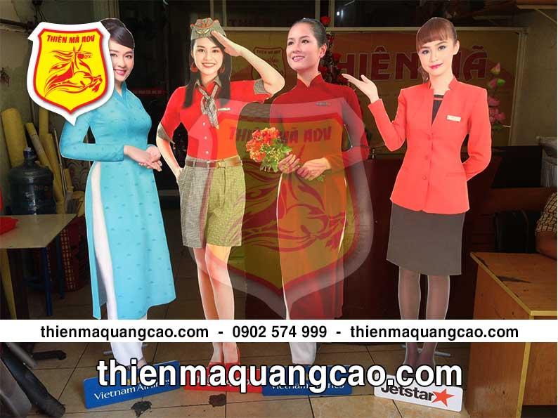Mô hình người mẫu Vietnam airlines mẫu mới