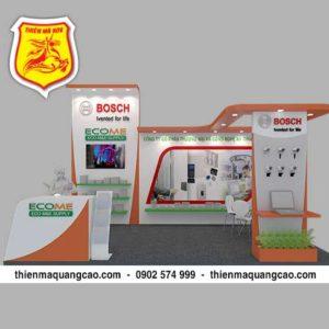 Booth trưng bày Ecome