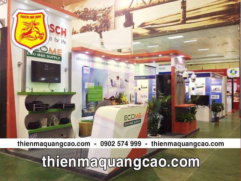 Thi công và sản xuất booth trưng bày Ecom giá rẻ uy tín nhanh chóng