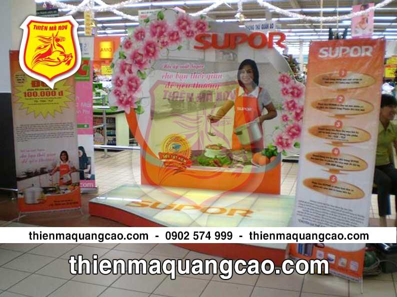 Booth quảng cáo Supor